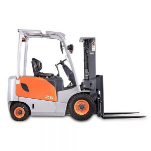 electric four wheel counterbalance forklift 300x300 - Electric Counterbalance Forklifts